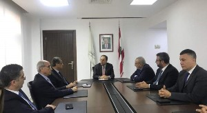 Meeting with the Minister of economy